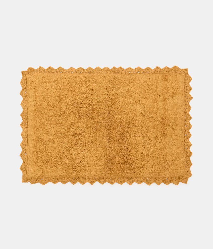 Tappeto bagno lace in puro cotone double 1