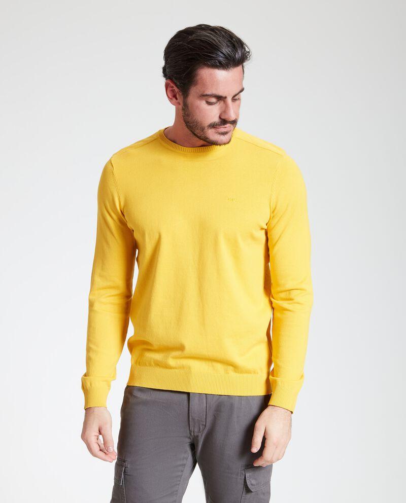 Maglione righe in rilievo uomo