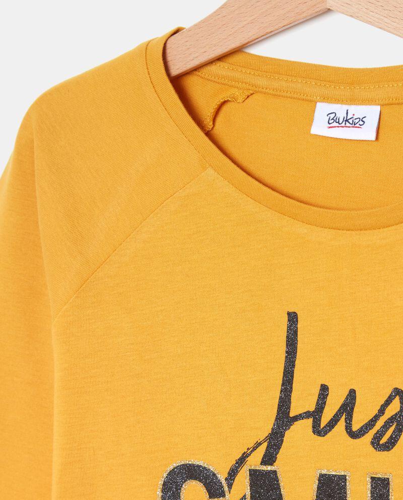 T-shirt in puro cotone ragazza