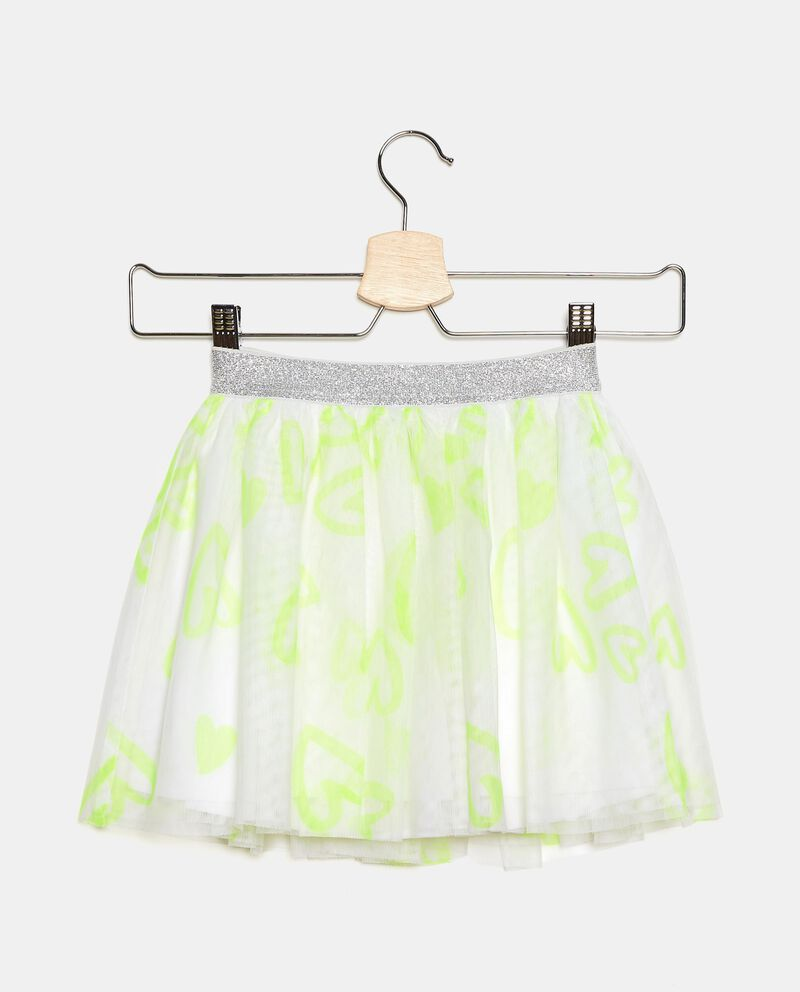 Gonna in tulle stampato bambina
