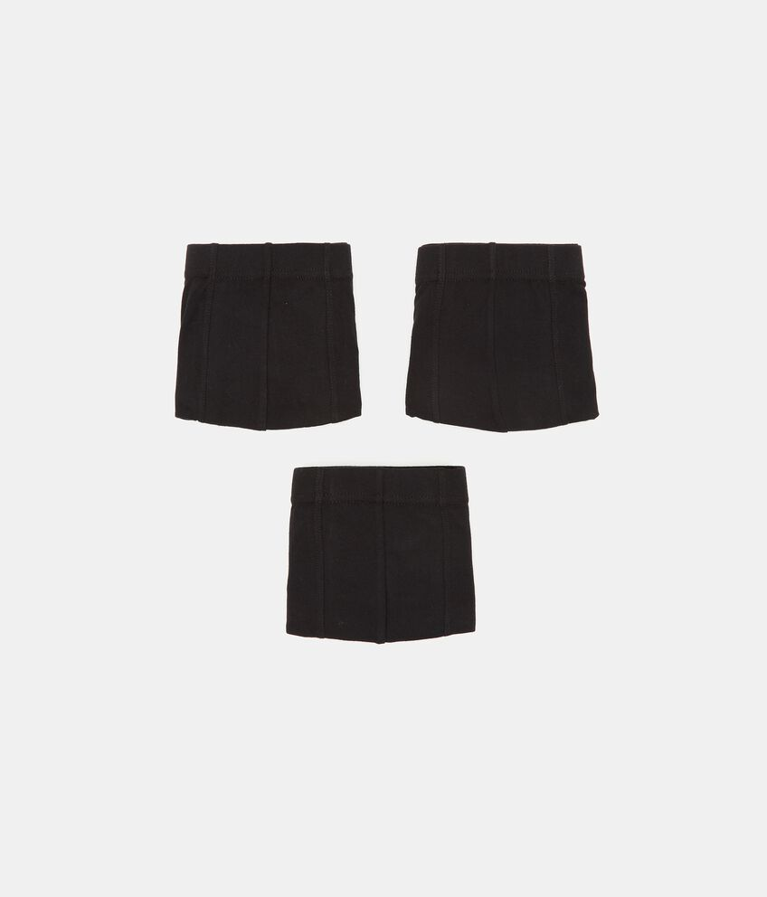 Pack con 3 boxer di puro cotone uomo double 1