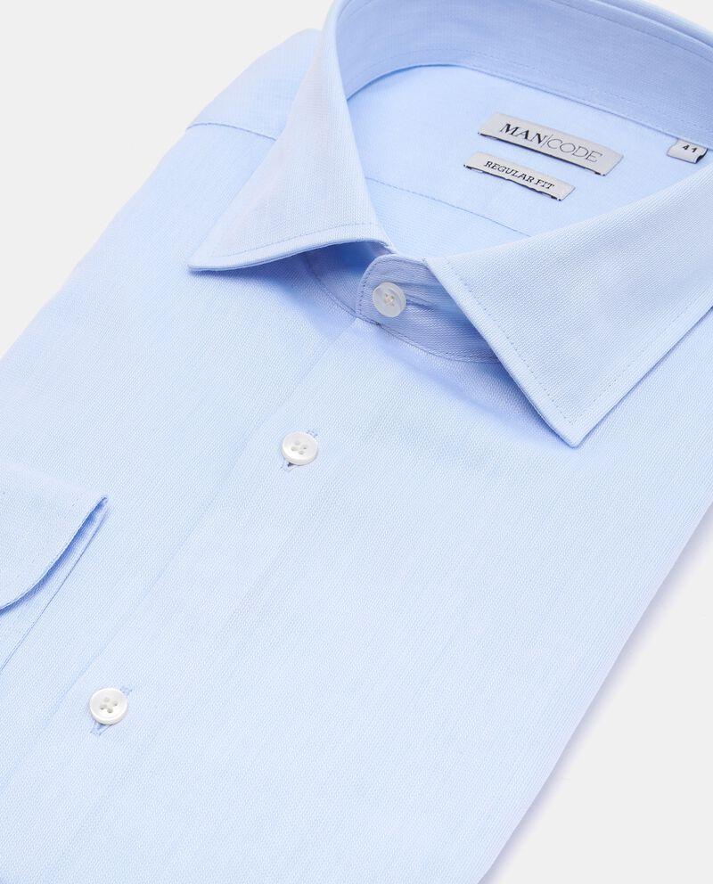 Camicia elegante puro cotone regular fit uomo