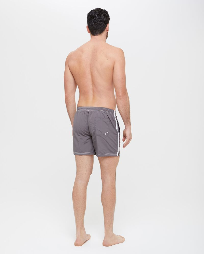 Shorts mare con bande laterali a contrasto uomo
