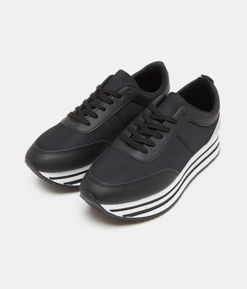 Sneakers con maxi platform donna