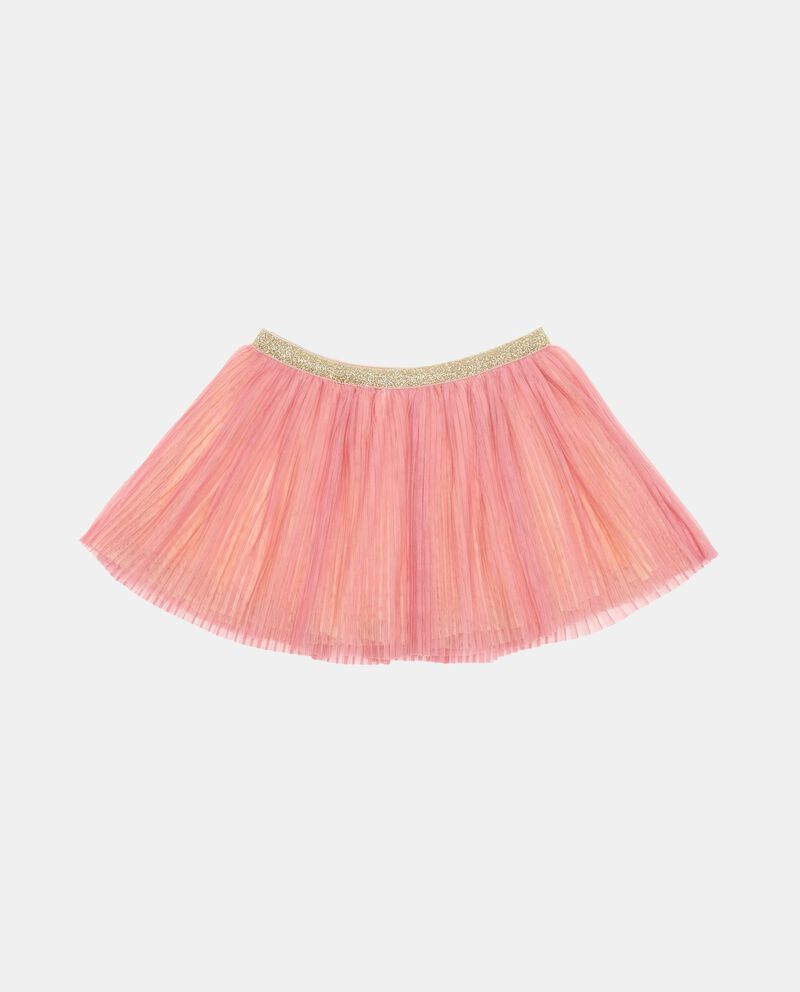 Gonna in tulle vita elasticata con glitter