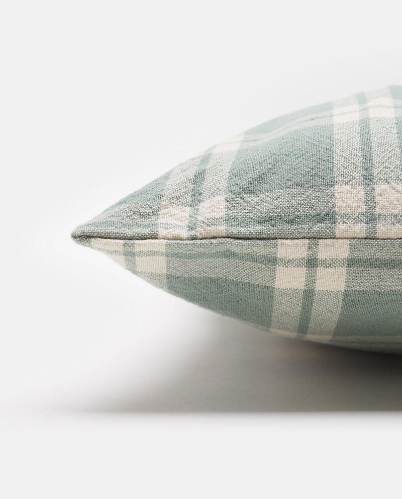 Cuscino in cotone a quadri