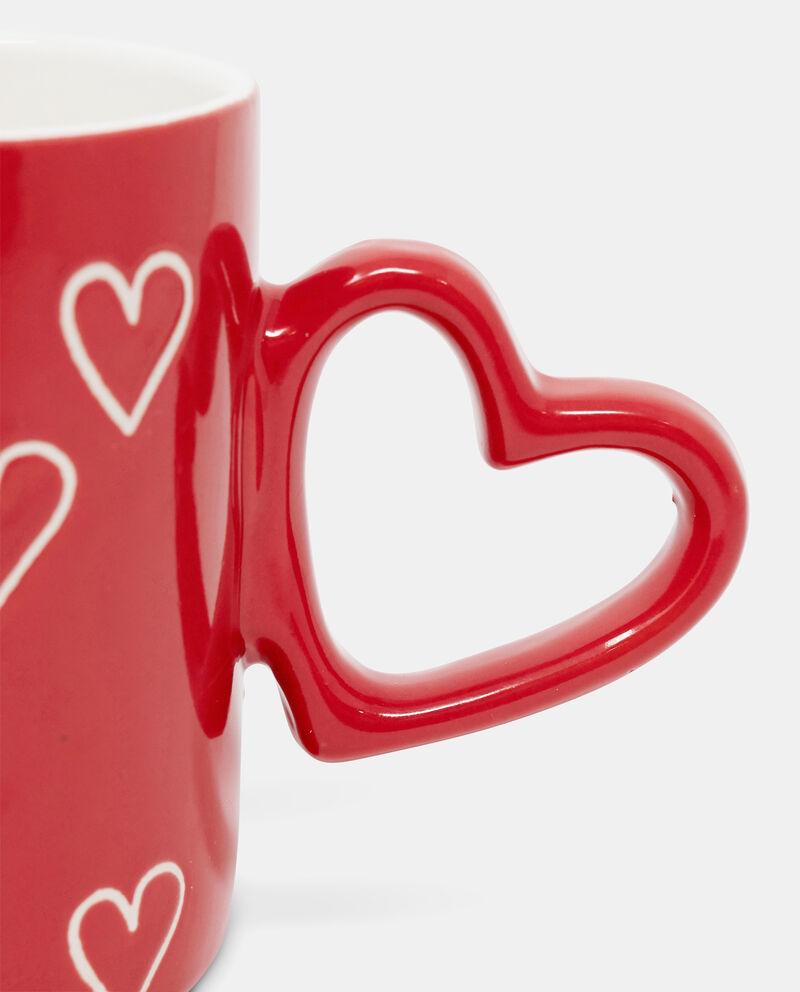 Mug in ceramica manico a cuore