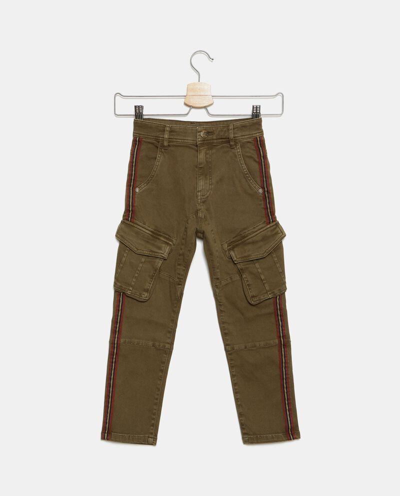 Pantaloni con bande laterali bambino