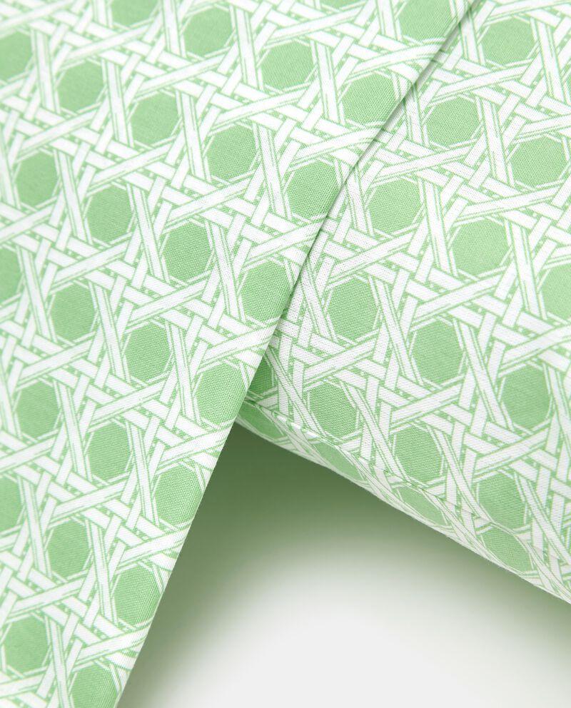 Lenzuola in puro cotone fantasia geometrica
