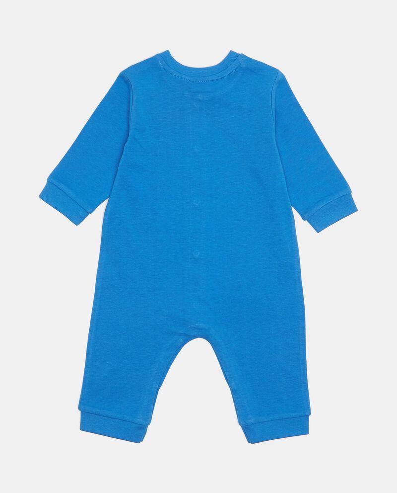 Tutina pigiama cotone con fantasia