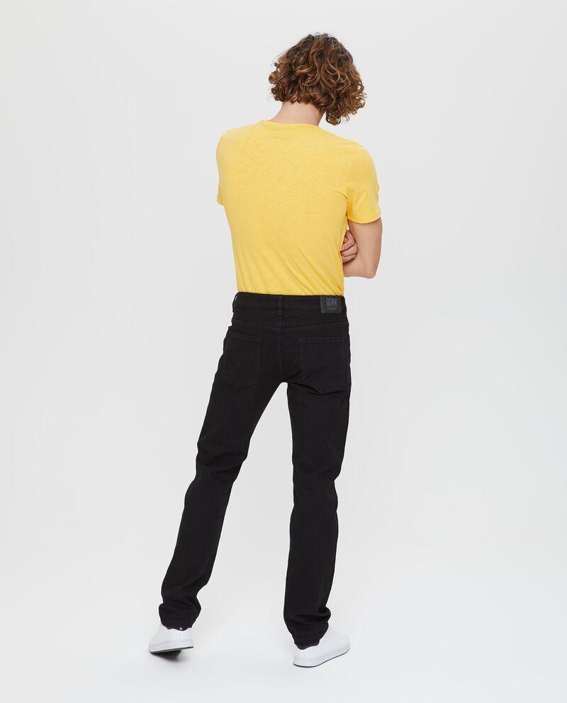 Jeans slim fit stretch con tasche
