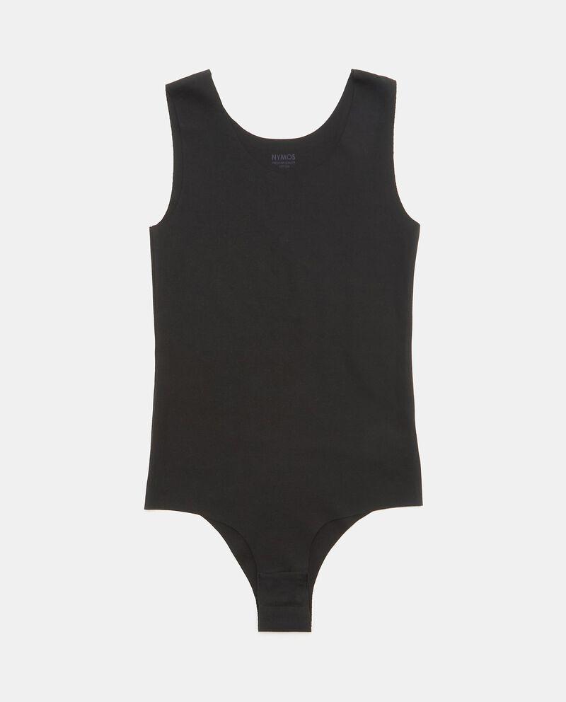 Body in cotone elasticizzato donna