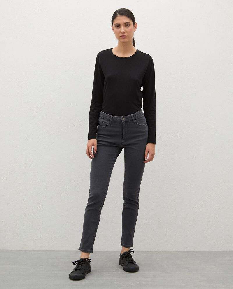 Jeans skinny in cotone stretch donna cover