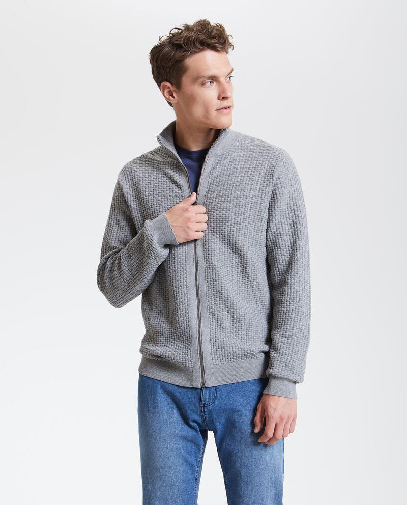Felpa in puro cotone tricot uomo