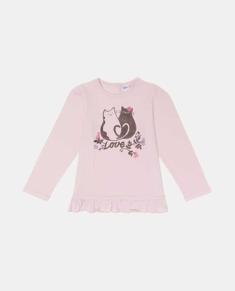 T-shirt con ruche neonata