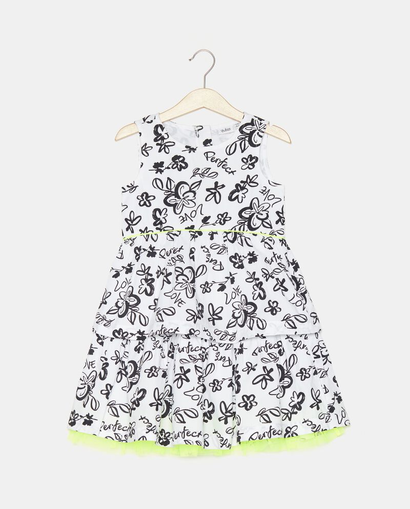 Vestito stampato in popeline bambina cover