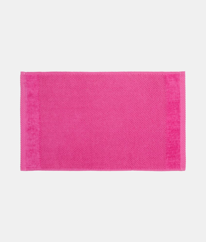 Asciugamano ospite in tinta unita puro cotone