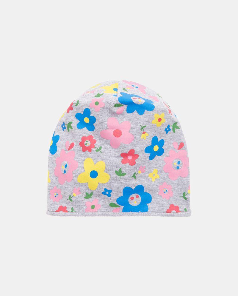 Cappello invernale con fiori