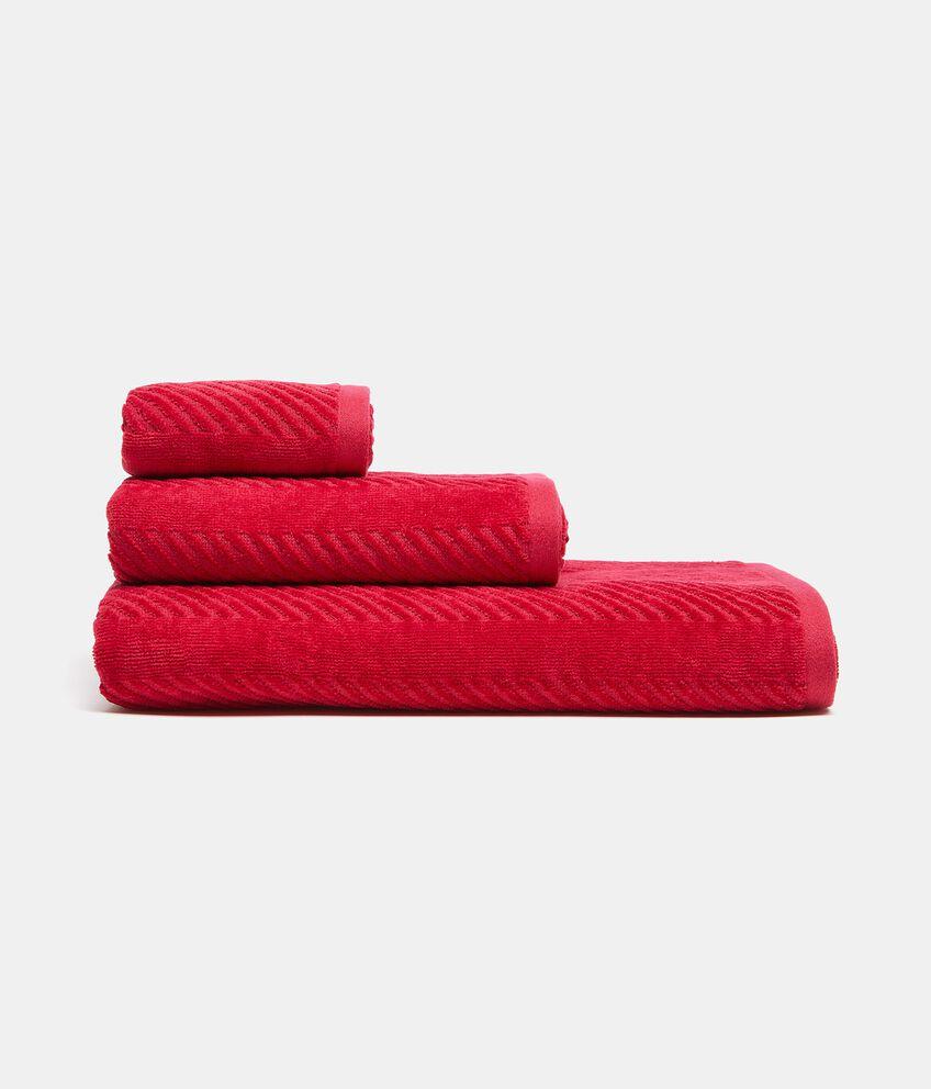 Set asciugamani e telo doccia in puro cotone