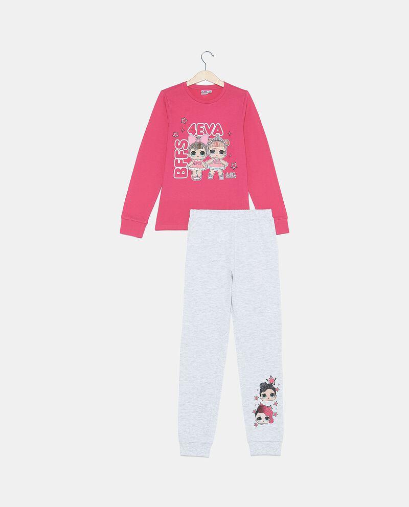 Set pigiama in puro cotone biologico maglia e pantaloni
