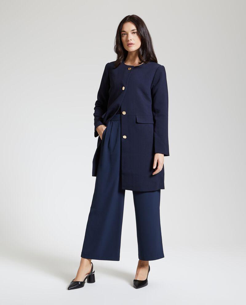 Cappotto tre quarti elegante donna