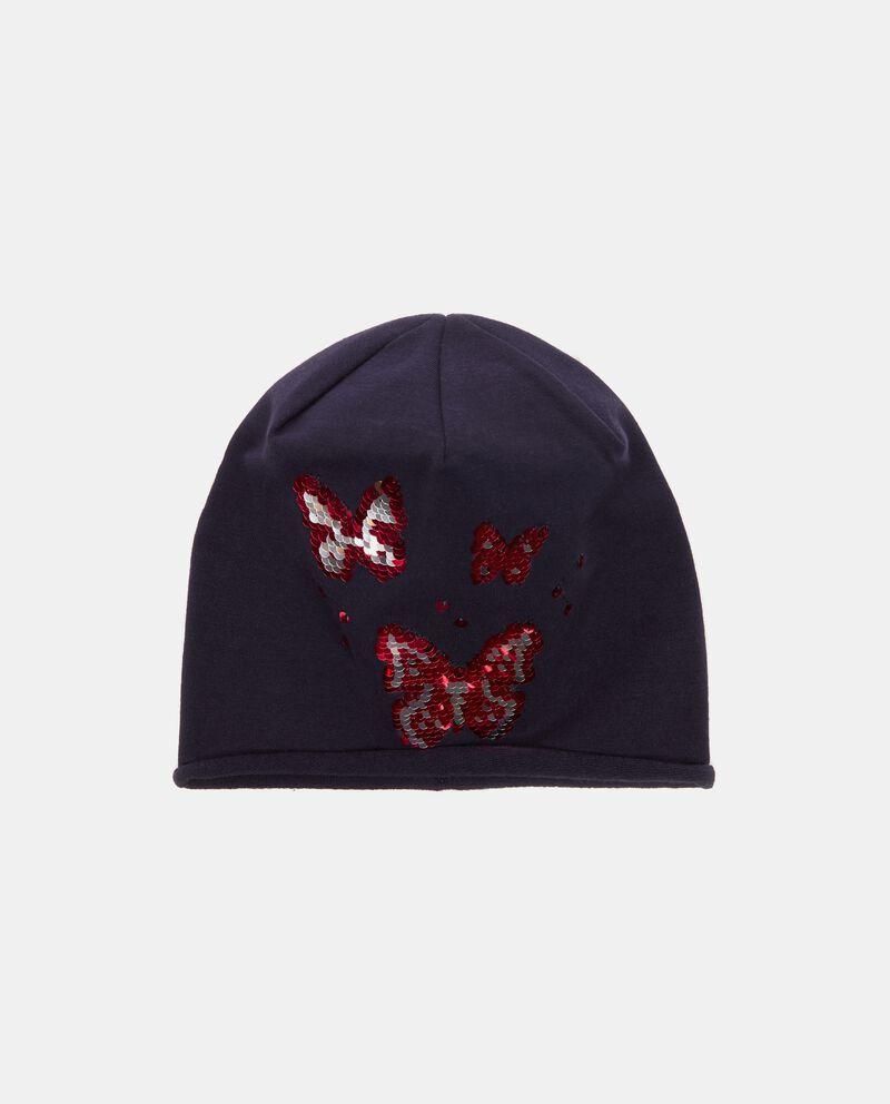 Cappello invernale con farfalle bambina