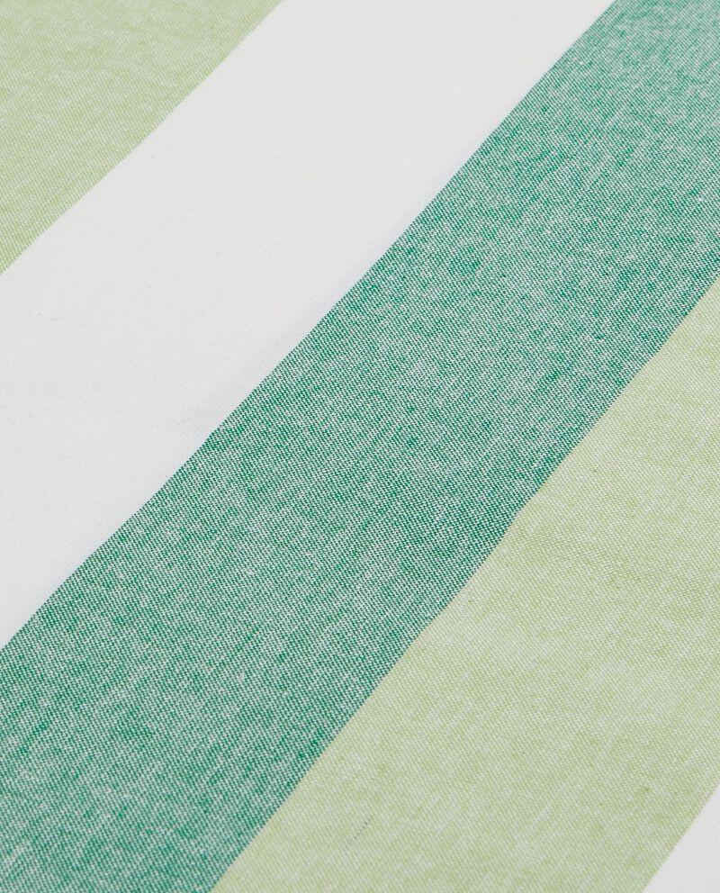 Telo con motivo a righe verdi bianche multiuso