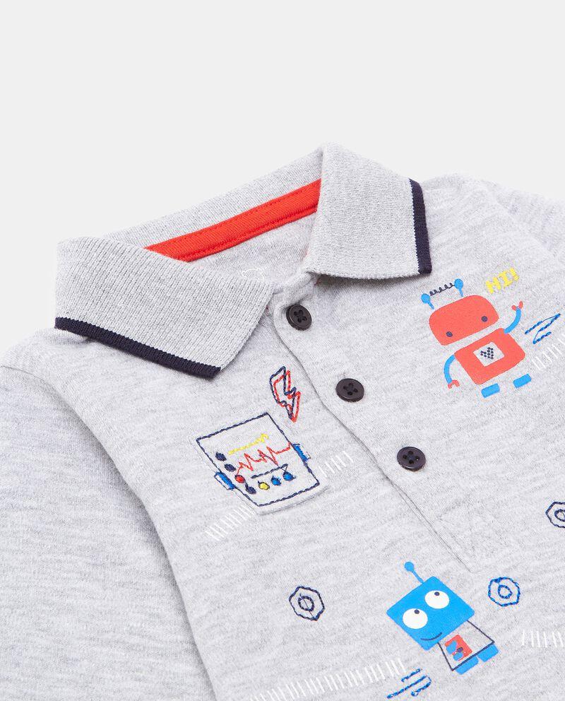 Camicia body con stampe neonato