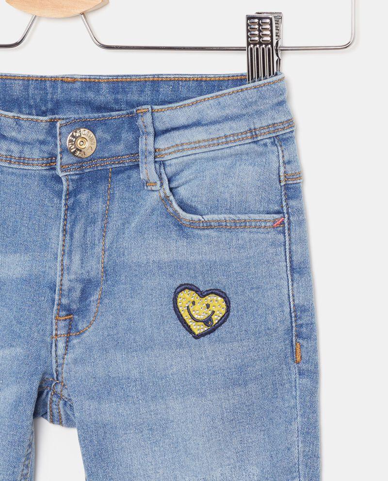 Jeans con patch applicati bambina single tile 1