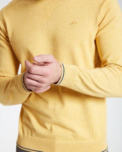 Pullover uomo girocollo puro cotone