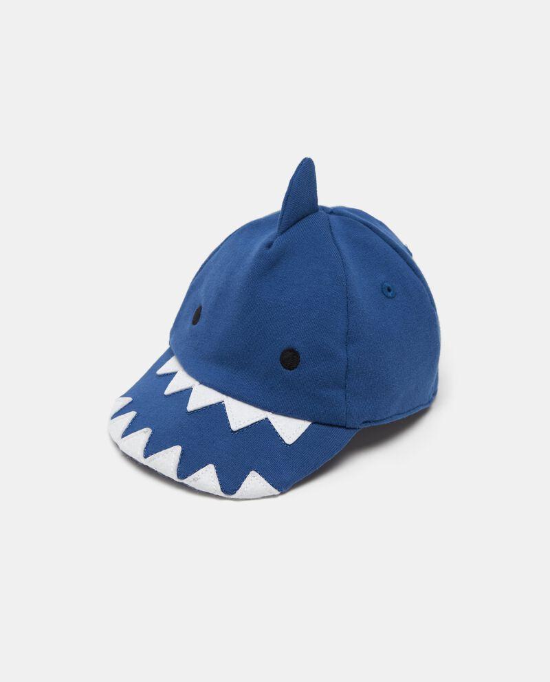 Cappellino con visiera squalo