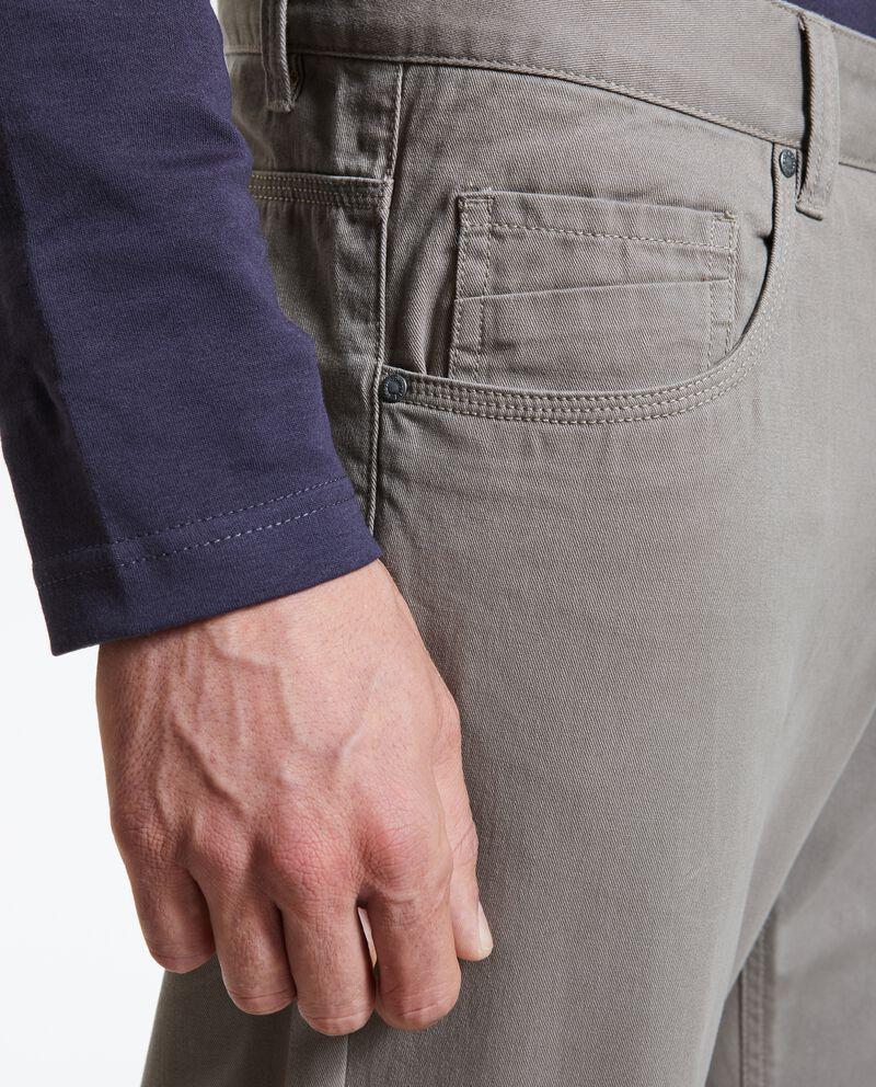 Pantaloni in tinta unita uomo