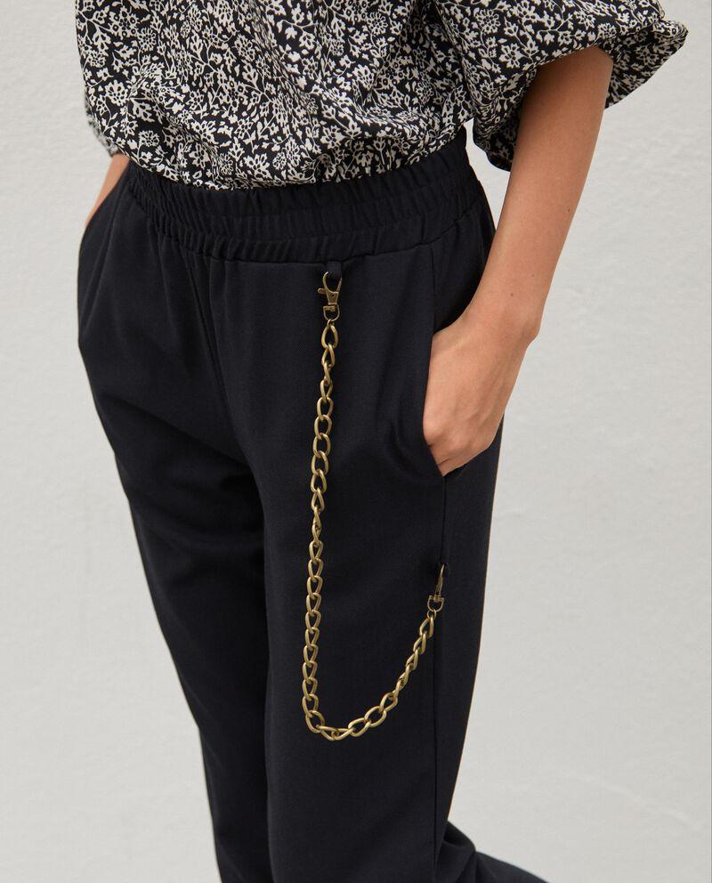 Pantaloni con catena donna single tile 2