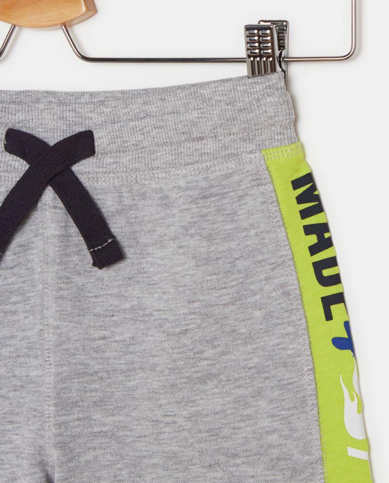 Shorts con bande laterali a contrasto bambino