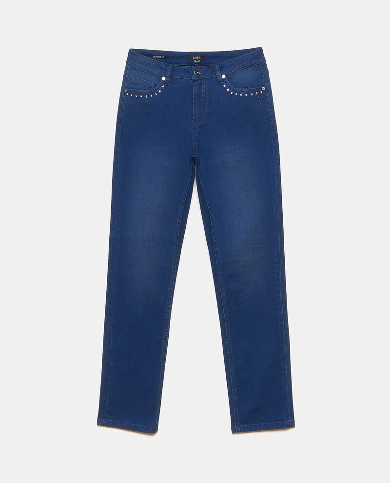 Jeans elasticizzati straight fit donna