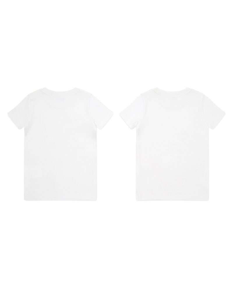 Set due t-shirt intime in puro cotone