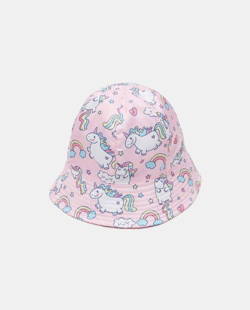 Cloche con stampa unicorni neonata cover