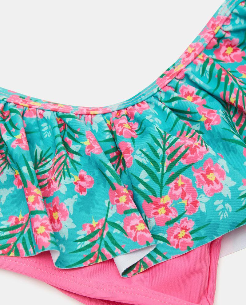 Costume bikini con scollo a barca ragazza