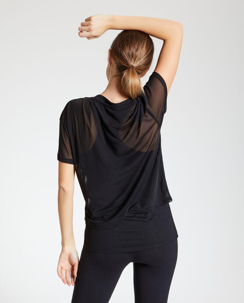 Canotta e t-shirt in velo Fitness donna