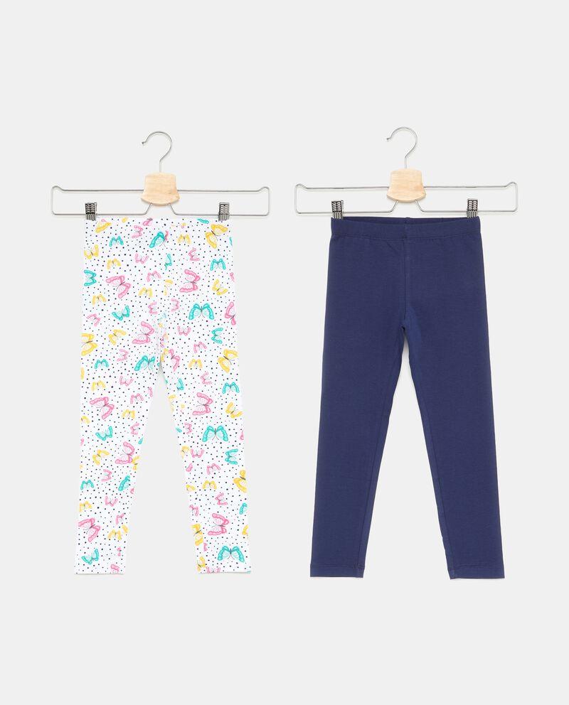 Set due leggings