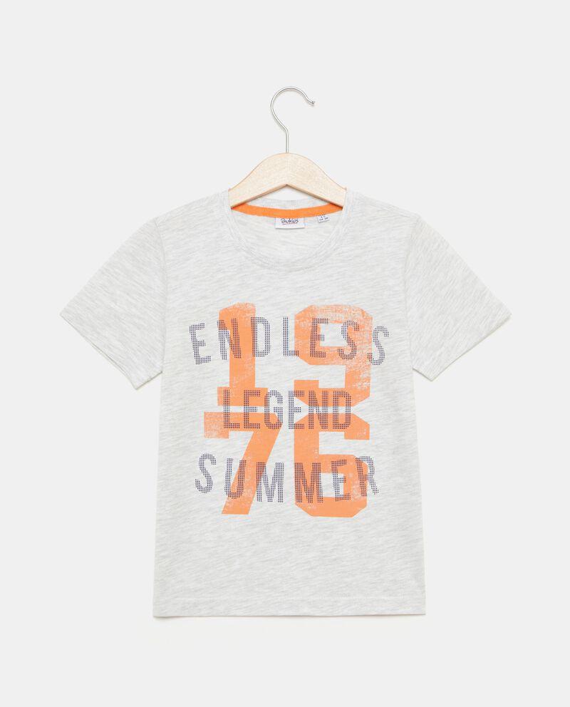 T-shirt in cotone con stampa bambino