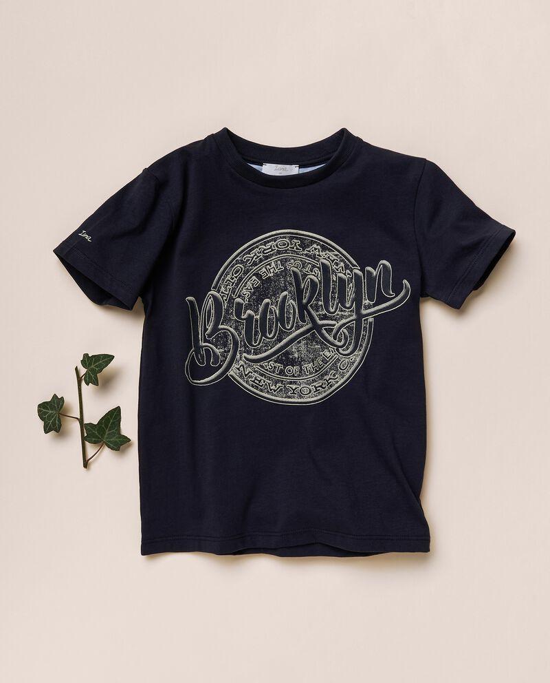 T-shirt stampata di jersey cotone organico cover
