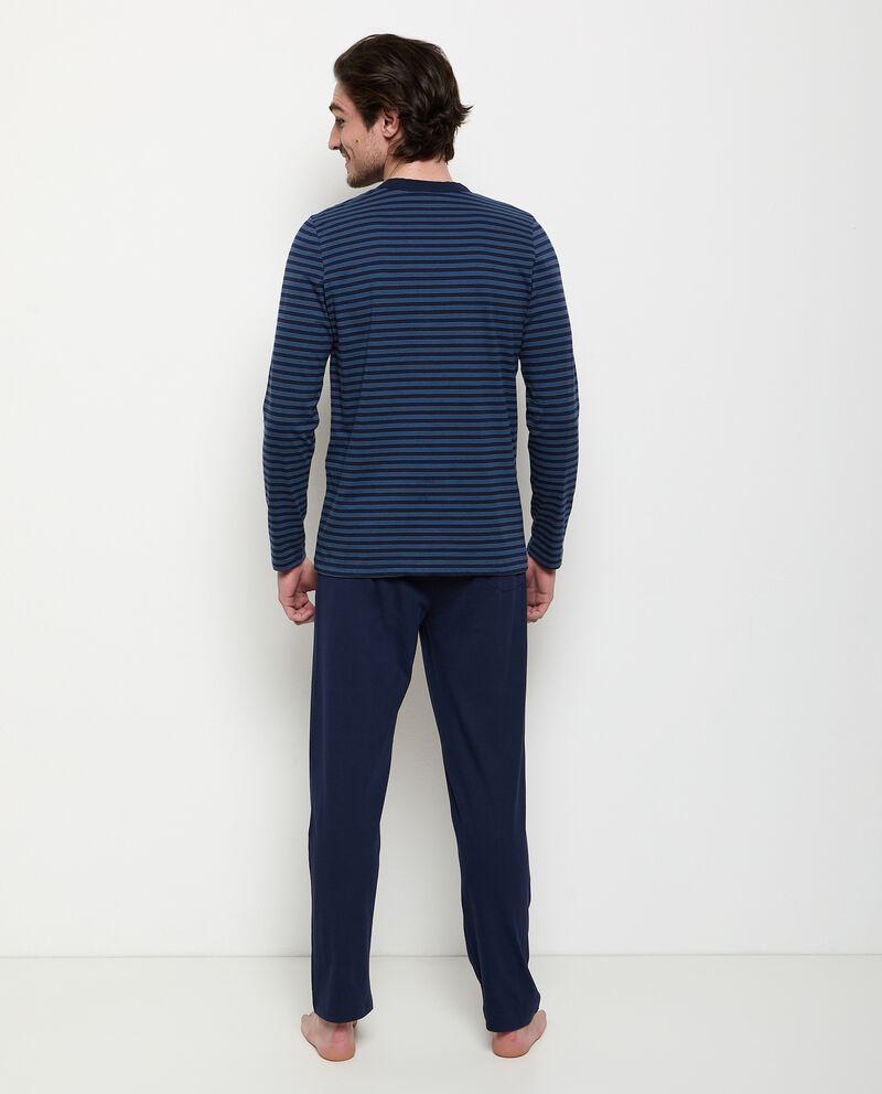 Set pigiama in puro cotone uomo