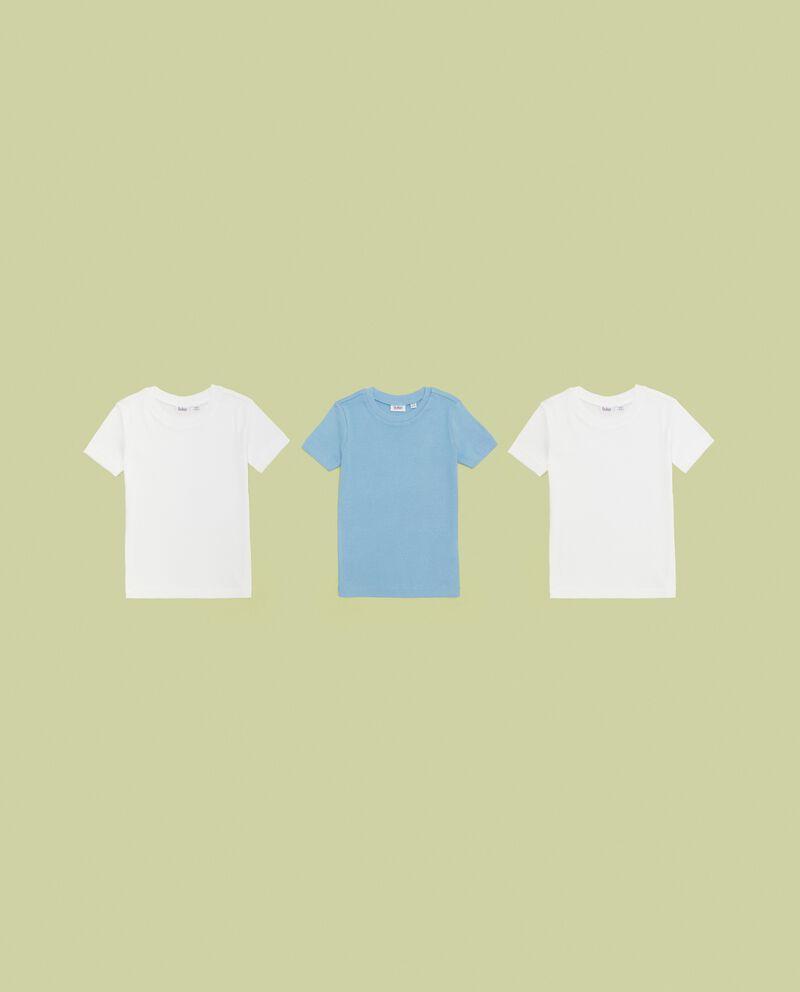 Tripack magliette intime in puro cotone