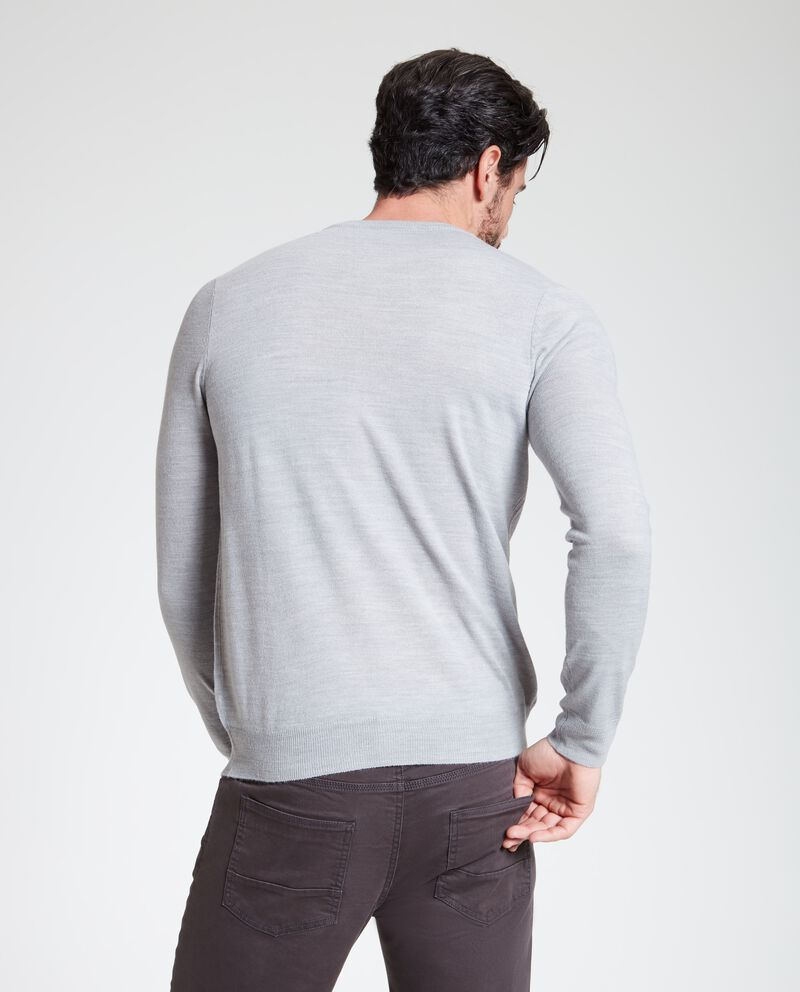 Pullover classico a girocollo uomo