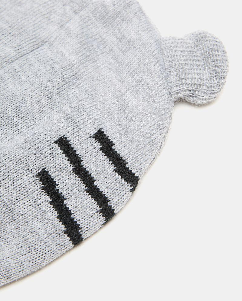 Berretto tricot con tigre neonato single tile 1