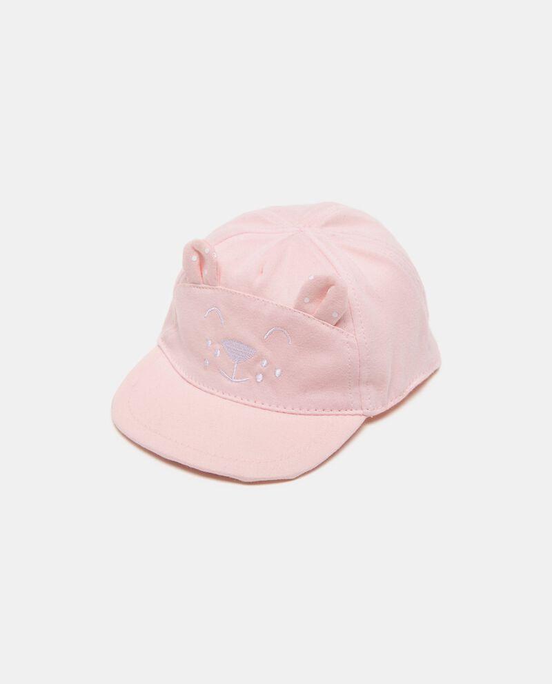 Cappellino con visiera e orecchie