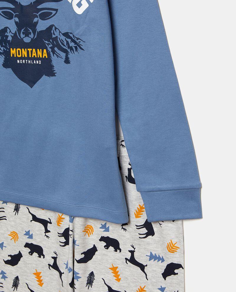 Set pigiama con maglia e pantaloni in fantasia single tile 1