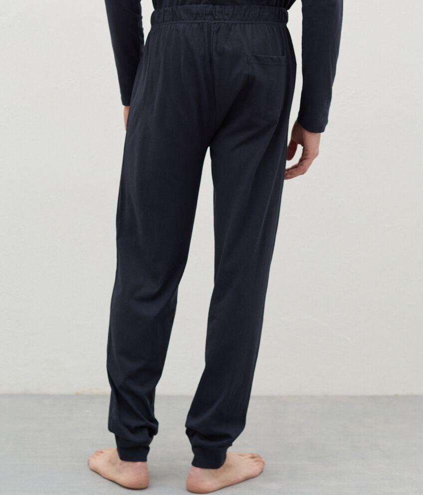 Pantaloni del pigiama di puro cotone uomo double 2