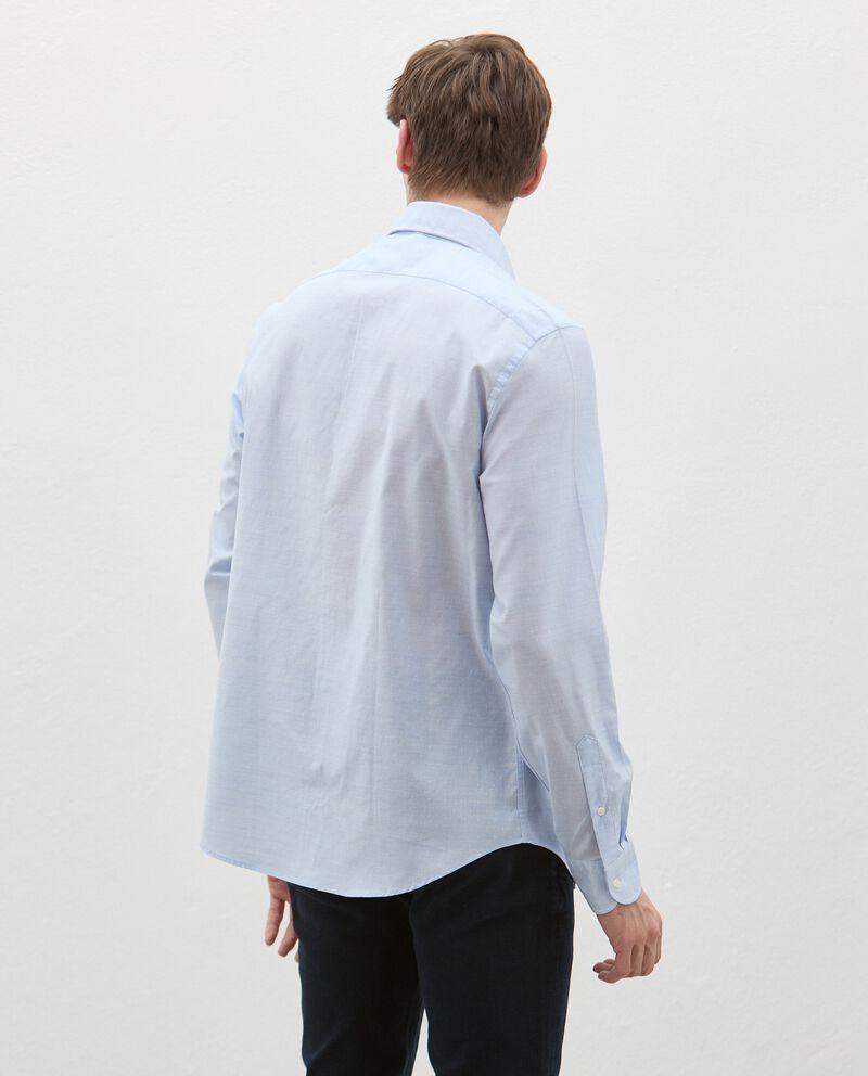 Camicia in puro cotone uomo single tile 1
